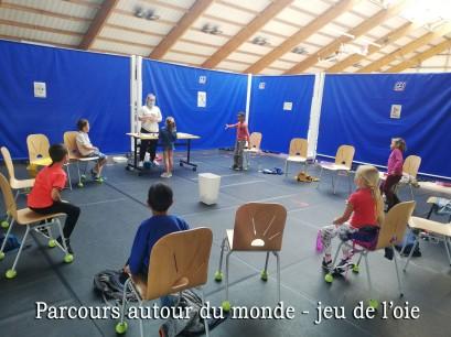 PARCOURS AUTOUR DU MONDE photo 1 JEU DE L'OIE