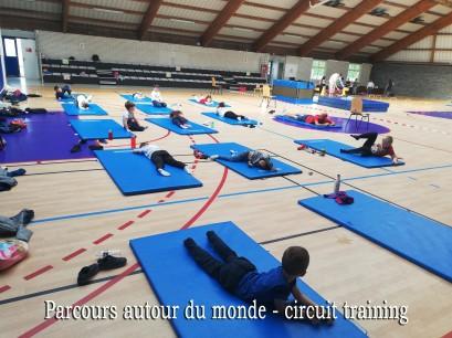 PARCOURS AUTOUR DU MONDE photo 2 CIRCUIT TRAINING