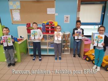 parcours de jardiniers - activité pour EPHAP