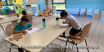 parcours des aventuriers - activité pour le personnel soignant