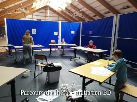 PARCOURS DES HEROS photo 3 INITIATION BD