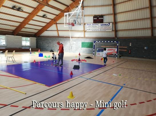 PARCOURS HAPPY photo 2 MINI GOLF